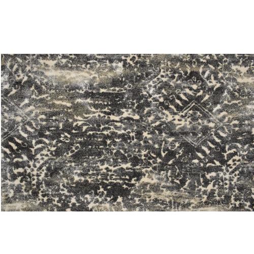 10' x 14' Capri Gray and Ivory Broadloom Rectangular Area Throw Rug - IMAGE 1
