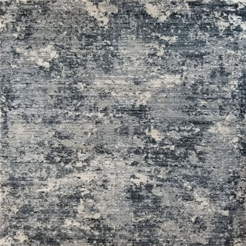 12' x 12' Beige and Gray Surfside Organic Square Area Throw Rug - IMAGE 1