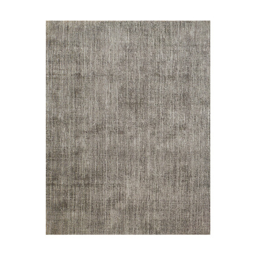 8' x 8' Melbourne Gray and Ivory Broadloom Square Wool-Blend Area Throw Rug - IMAGE 1