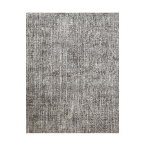 12' Oak Hill Beige and Ivory Broadloom Round Wool Blend Area Throw Rug - IMAGE 1