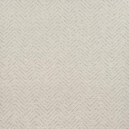 8' x 8' Ivory Transitional Chevron Square Area Throw Rug - IMAGE 1