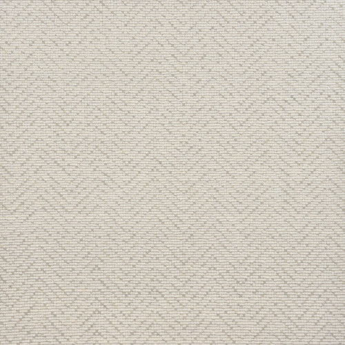 3' x 10' Ivory Lawrence Geometric Hand Woven Area Throw Rug Runner - IMAGE 1