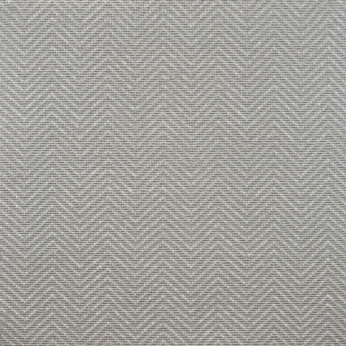 3' x 20' Fossil Gray and Ivory Chevron Hand Woven Rectangular Area Throw Rug Runner - IMAGE 1