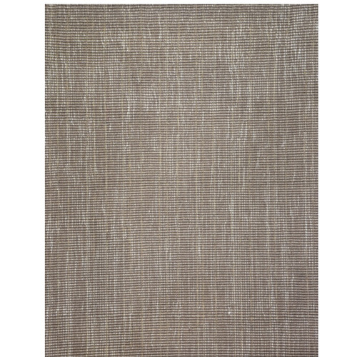 10' x 14' Beige and Ivory Rectangular Wool Area Throw Rug - IMAGE 1