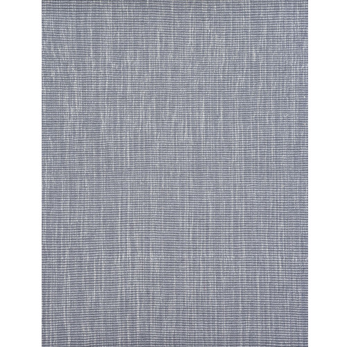 3' x 10' Vancouver Blue and Ivory Ultra-Soft Pile Rectangular Wool Blend Area Rug Runner - IMAGE 1