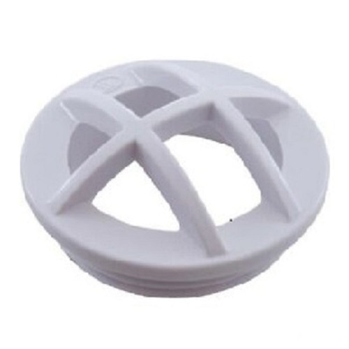 """1.5"""" White Safety Grate Swimming Pool Insert - IMAGE 1"""