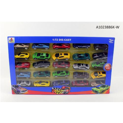 "16.75"" Die-Cast Multi-Color Racing Car Set - IMAGE 1"