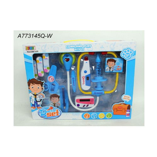 """12-Pieces Come and Play with Us Doctor Playset Children's Toy 14.5"""" – Battery Operated - IMAGE 1"""