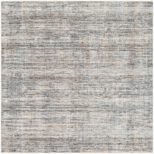 3.25' x 5' Distressed Brown and Ivory Rectangular Area Throw Rug - IMAGE 1