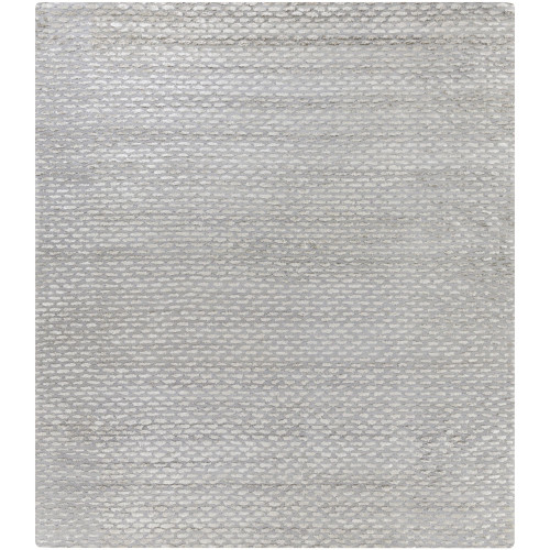 10' x 14' Contemporary Style Gray and Taupe Brown Rectangular Area Throw Rug - IMAGE 1