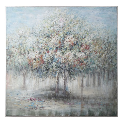 "48"" Fruit Trees Canvas Hand Painted Indoor Painted Wall Art - IMAGE 1"