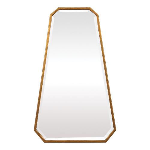 """36"""" Gold Ottone Modern Octagon Mirror - IMAGE 1"""