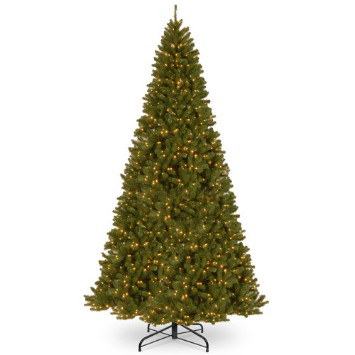 16' Pre-Lit North Valley Spruce Artificial Christmas Tree - Clear Lights - IMAGE 1