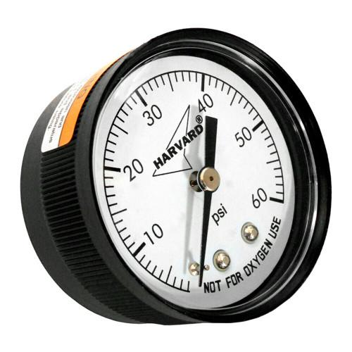 "Black American Granby IPPG6024B 0.25"" MPT Back Pressure Gauge - IMAGE 1"