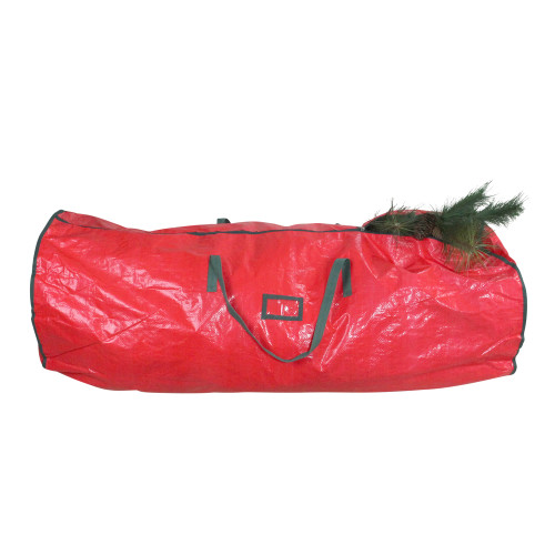 """53"""" Red and Green Artificial Christmas Tree Storage Bag - IMAGE 1"""