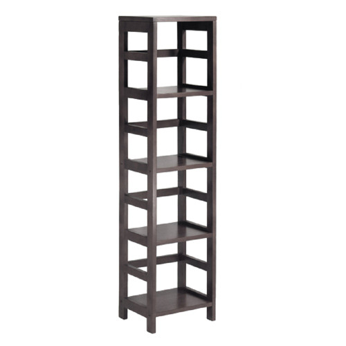 """54.75"""" Brown Standing Shelf with Four Tier - IMAGE 1"""