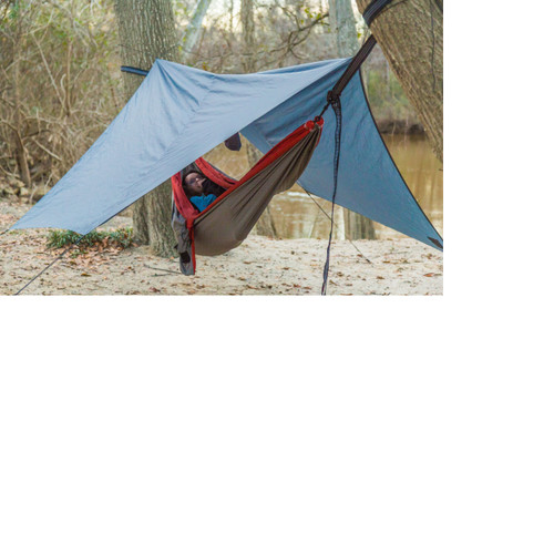 """120"""" Gray Castaway Packable Rain Fly - IMAGE 1"""