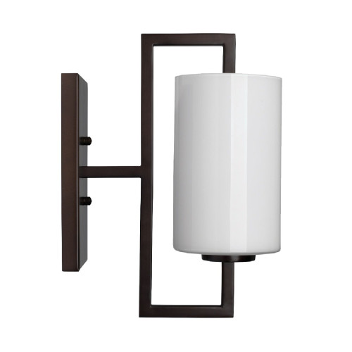 """13"""" Chocolate Brown and White Blueprint Wall Sconce - IMAGE 1"""