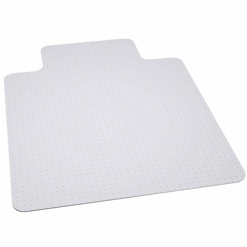 36'' x 48'' Clear Carpet Gripper Carpet Chair Mat with Lip - IMAGE 1