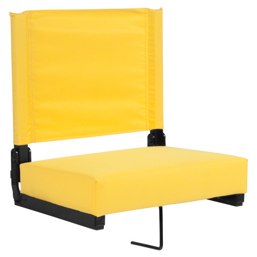 """18"""" Yellow Grandstand Comfort Seats by Flash with Ultra-Padded Seat - IMAGE 1"""