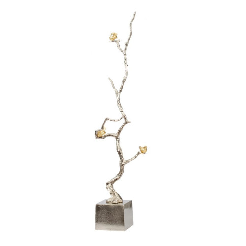 """37"""" Silver and Gold Branch Accent Decor - IMAGE 1"""