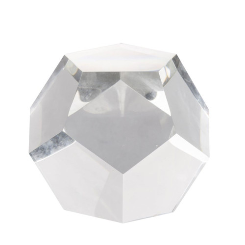 """4.5"""" Polygon Crystal Decorative Accent - IMAGE 1"""