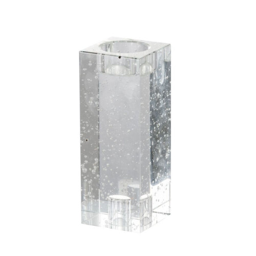 """6.25"""" Clear Modern Chic Style Candle Holder - IMAGE 1"""