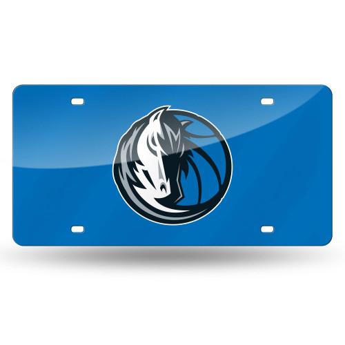 "6"" x 12"" Blue and Black NBA Dallas Mavericks Tag - IMAGE 1"