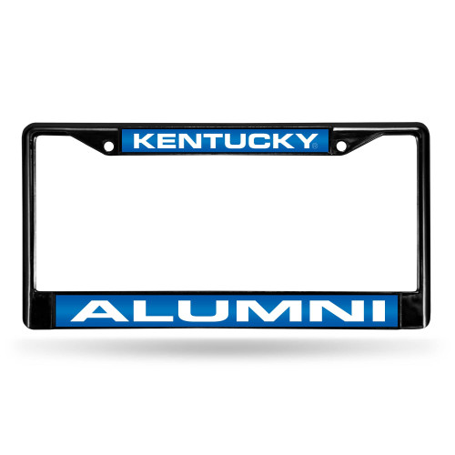 """6"""" x 12"""" Sea Blue and White College Kentucky Wildcats License Plate Cover - IMAGE 1"""