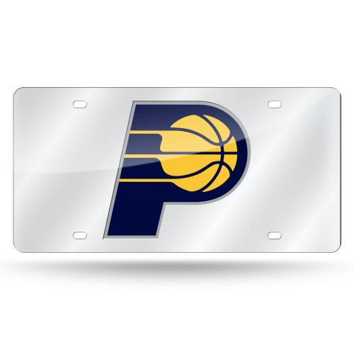 """6"""" x 12"""" Blue and Yellow NBA Indiana Pacers Tag - IMAGE 1"""