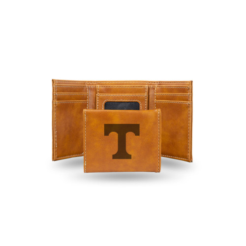 """4"""" Brown College Tennessee Volunteers Trifold Wallet - IMAGE 1"""
