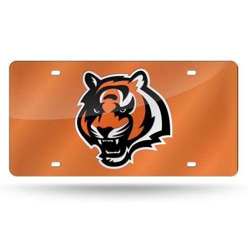 "12"" Orange and Black NFL Cincinnati Bengals Tag - IMAGE 1"