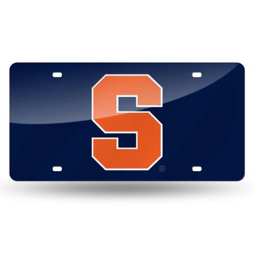 "6"" x 12"" Blue and Orange College Syracuse Orange Tag - IMAGE 1"
