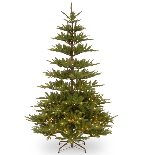 7.5' Pre-Lit PowerConnect Glenwood Fir Artificial Christmas Tree – Clear Lights - IMAGE 1