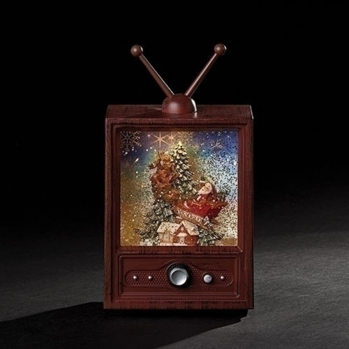 "7"" LED TV with Santa in Sleigh - IMAGE 1"