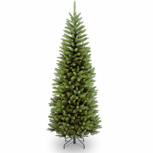 6' Kingswood Fir Pencil Artificial Christmas Tree - Unlit - IMAGE 1