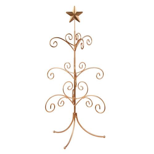 """22"""" Gold Regent Mini Ornament Tree Display Stand - IMAGE 1"""