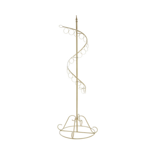 """70.5"""" Ivory Spiral Ring Scarf Display Tree Stand - IMAGE 1"""
