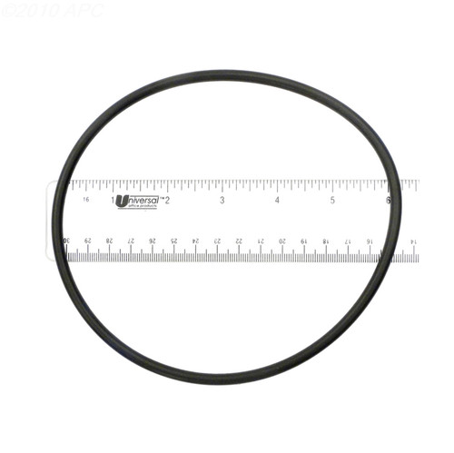 """6"""" Black APCO2162 Rubber O-Ring for Multiport - IMAGE 1"""