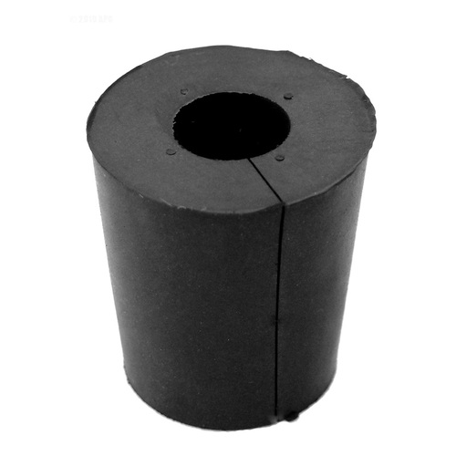"0.75"" Black Rubber Cord Stopper Seals Pool Light Conduit - IMAGE 1"