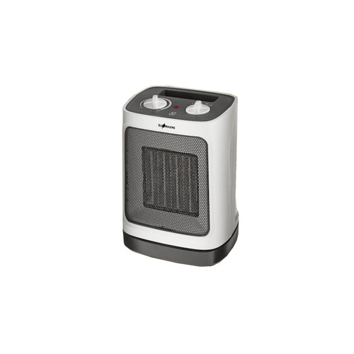 """30"""" White and Gray Ecohouzng Ceramic Heater with Oscillation - IMAGE 1"""