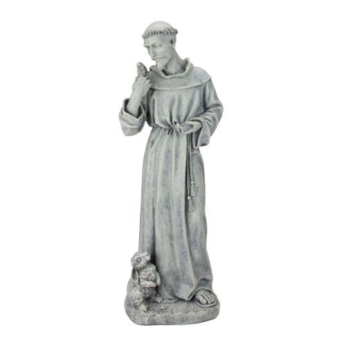 "24"" Joseph's Studio St. Francis of Assisi Religious Outdoor Garden Statue - IMAGE 1"