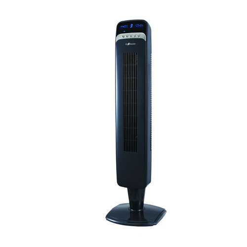 """40"""" Blue Ecohouzng Tall Oscillating Tower Fan with Remote - IMAGE 1"""