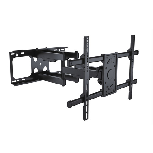 "25"" Black Full Motion Wall Mount for 37"" to 70"" Flat Panel TV - IMAGE 1"