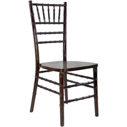 """36"""" Brown Wooden Stackable Traditional Chiavari Chair - IMAGE 1"""