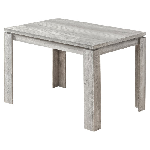 """47.25"""" Gray Reclaimed Wood-Look Dining Table - IMAGE 1"""