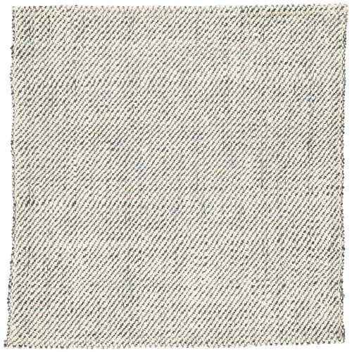 9' x 12' Gray and White Contemporary Rectangular Area Throw Rug - IMAGE 1