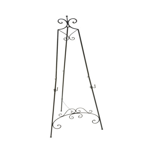 """65"""" Black Contemporary Floor Easel for Photo Frame - IMAGE 1"""