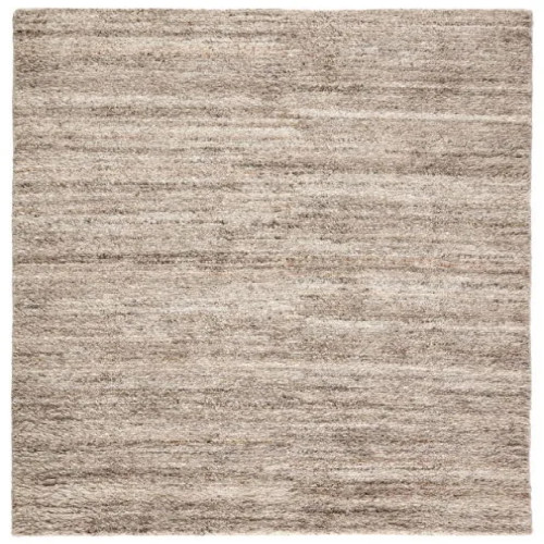 5' x 8'  Bengal Gray with Tan Accent Handmade Solid Design Area Rug - Medium - IMAGE 1