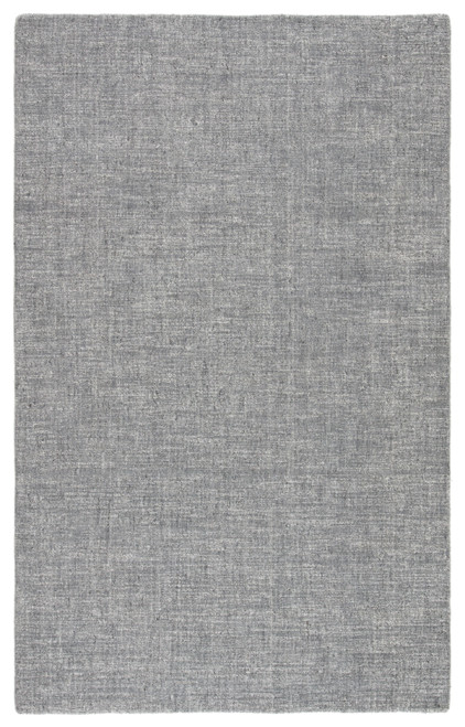 5' X 8' Gravy and Ivory Handwoven Area Throw Rug - IMAGE 1